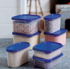 If it's organization you crave, Tupperware can help you keep tabs on clutter. Our Modular Mates are lightweight, scratch and stain resistant, with airtight seals to lock in freshness!