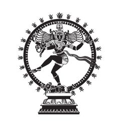 Entry by kaushalyasenavi for Draw a vector image of Nataraja (Dancing Shiva) in black and white Shiva Art, Krishna Art, Hindu Art, Kerala Mural Painting, Indian Art Paintings, 3d Art Drawing, Sketch Painting, Ganesha Drawing, Shiva Tattoo Design