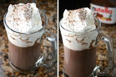 Nutella Hot Chocolate Recipe That Will Blow Your Mind!