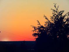 Sunset over Tiverton, RI.