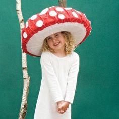 DIY Halloween DIY Costumes :DIY Girls Halloween Costumes : DIY Dotty Toadstool