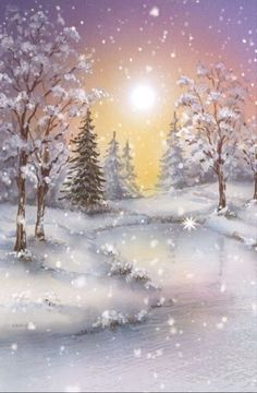 Global Christmas Anytime Party (Official Group) has members. Welcome to share Christmas: designs, crafts, recipes or winter pictures. Christmas Scenes, Christmas Pictures, Christmas Art, Christmas Scene Drawing, Christmas Ideas, Winter Painting, Winter Art, Winter Snow, Winter Scene Paintings