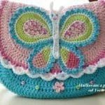 Örgü Çocuk Çanta Modelleri - Mimuu.com Crochet Wallet, Crochet Backpack, Bag Crochet, Crochet Quilt, Crochet Girls, Crochet Handbags, Crochet Purses, Crochet Hats, Crochet Purse Patterns