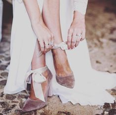 We are loving these taupe velvet bridal shoes! Yay or Nay? with Schuhe: : Kleid: We are loving these taupe velvet bridal shoes! Yay or Nay? with Schuhe: : Kleid: … Winter Wedding Shoes, Converse Wedding Shoes, Sparkly Wedding Shoes, Wedge Wedding Shoes, Wedding Boots, Wedding Heels, Bride Shoes, Ballet Wedding Shoes, Crazy Shoes