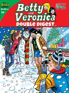 Betty and Veronica Double Digest 206, Archie Comic Publications https://www.pinterest.com/citygirlpideas/archie-comics/