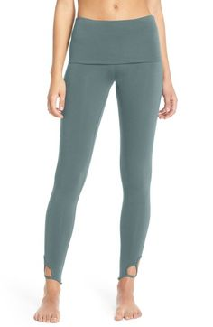 Free People 'Moon Shadow' High Waist Leggings available at #Nordstrom