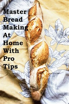 Master Breadmaking At Home With Pro Tips Pro Tip, Dry Yeast, How To Make Bread, My Recipes, Inspirational, Homemade, Baking, Tips, Bakken