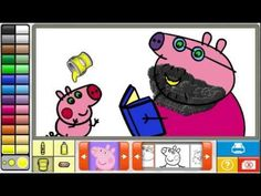 NEW Peppa Pig Coloring Pages 2015