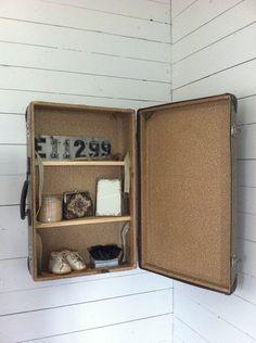 resväsla,koffert,50-tal,retro,vintage,förvaring,diy,pyssel,do-it-yourself