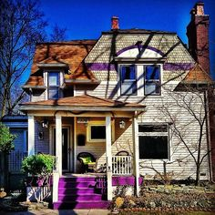 Purple Stairs. Yes...