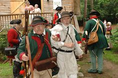 Arrested during the Under the Crown event in June at the Living History Park