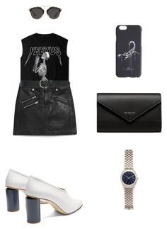 """""""Celebrate Our 10th Polyversary!"""" by roo-elliss ❤ liked on Polyvore featuring Coach, Acne Studios, Christian Dior, Balenciaga, M&Co, Off-White, Nixon, polyversary and contestentry"""