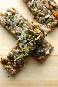 34 energy bars you can make at home