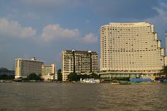 nice Shangri-La Hotel in the evening sun seen from the Chao Phraya river in Bangkok, Thailand Check more at http://www.discounthotel-worldwide.com/travel/shangri-la-hotel-in-the-evening-sun-seen-from-the-chao-phraya-river-in-bangkok-thailand/