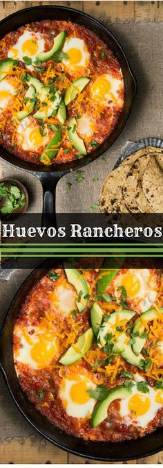 Weekend Huevos Rancheros to Please a Brunch Crowd