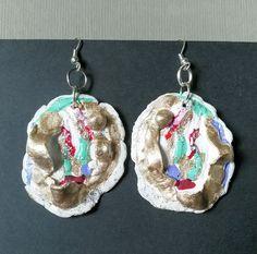 Crochet Earrings, Jewelry Making, Drop Earrings, Drop Earring, Jewellery Making, Make Jewelry, Diy Jewelry Making