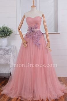Efficient Backlakegirl 2018 Fairy Princess Pink A-line Long Evening Dress Tulle Organza Stap Cap Sleeve Zipper Back Porm Celebrity Dresses Weddings & Events