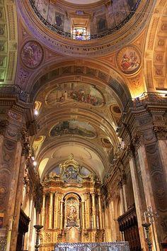 Buenos Aires Metropolitan Cathedral, main chapel & altarpiece.