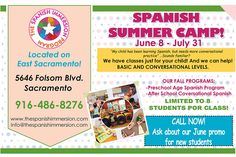 Fun learning Spanish with The Spanish Immersion Program! They teach Spanish in a full immersion environment with lots of hands-on activities to build confidence. #kids #spanish #summer #camp