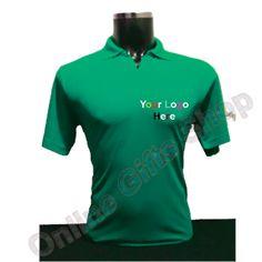 Corporate-T-Shirts -Green-Collar