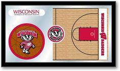 Wisconsin Badgers Basketball Sports Team Mirror at SportsFansPlus,com. Visit website for details!