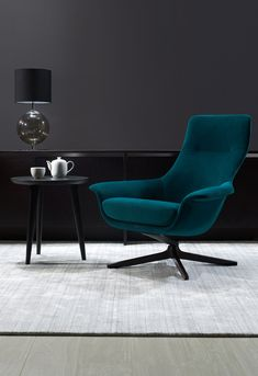 Seymour Chair - King Furniture Just ordered it in Electric Blue