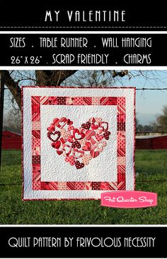The ultimate heart quilt.