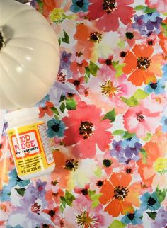 Looking for easy pumpkin decorating ideas, this mod podged pumpkin features gorgeous watercolor wrapping paper, and is perfect for your fall decor. This is a great kid's fall craft, too! Easy Crafts To Sell, Christmas Crafts To Sell, Kids Fall Crafts, Crafts For Teens, Diy Crafts, Blue Crafts, Homemade Crafts, How To Make Paper Flowers, Giant Paper Flowers