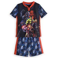Disney Marvel's Avengers: Age of Ultron Short Sleep Set - Size 4 NWT Boys #DisneyMarvel #PajamaSets