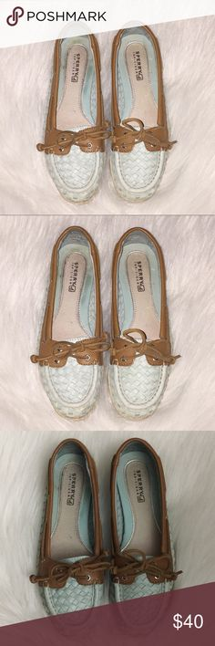 48196881c Sperry Top Sider Shoes Leather Women s Size 6