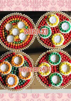 Contact for watsapp 9002152471 for details . Diya Decoration Ideas, Diy Diwali Decorations, Decor Crafts, Easy Crafts, Home Decor, Diy Paper, Paper Crafts, Diwali Candles, Ornament Wreath