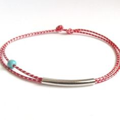 Thumb 20170220082840 1d6e676b Macrame Bracelets, Handmade Bracelets, Jewelry Bracelets, Handmade Jewelry, Silver Brooch, Ring Bracelet, Jewelry Crafts, Friendship Bracelets, Turquoise Bracelet