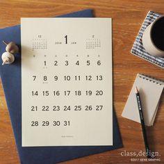 印刷用カレンダー素材をインテリアテイスト別に全6種類公開しました。誰でもカンタンに無料でご利用いただけます。