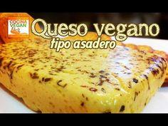 Queso vegano tipo asadero - Cocina Vegan Fácil - YouTube