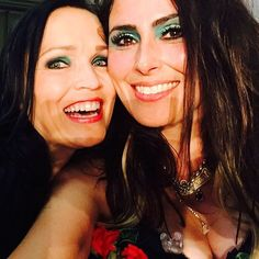 Sharon Den Adel of Within Temptation feat. Tarja Turunen special guest singing…