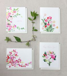 Free Printable Watercolor Cards