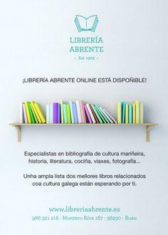 Comprar libros de Galicia en internet en libreriaabrente.es
