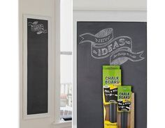 Contact Adhesive Chalk Board Paper Peel & Stick Roll 12 Inches X 4 Feet Size - Free Shipping $4.99 (ebay.com)
