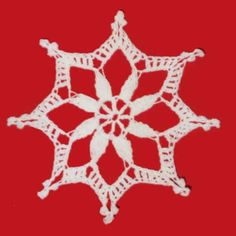 FP288 Starry Snowflake Ornament