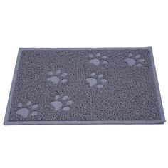 cat Cat Dog Litter Mat Placemat Table Mats Food PVC Rectangle Claw Cleaning Mats for Cats Dogs 3Colors -- New and awesome cat product awaits you, Read it now  : Cat Repellent and Training Aid