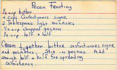 Pecan Frosting