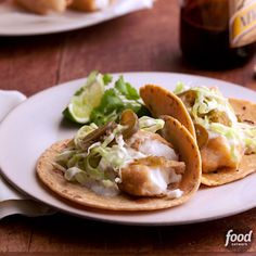 These Baja Style Fish Tacos are beer-battered and delicious! Add our special Baja cream sauce for a flavor pop.