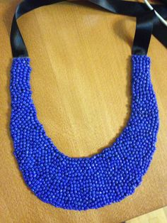 Bluemarine beads necklace
