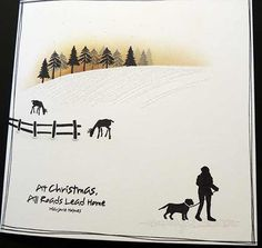 Card-io Majestix Cards For TV Show September 2016 Christmas Cards 2017, Christmas Card Crafts, Homemade Christmas Cards, Christmas Scenes, Xmas Cards, Holiday Cards, Cardio Cards, Penny Black Cards, Watercolor Christmas Cards