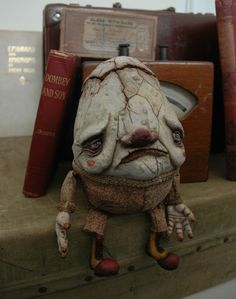 This fantastic Humpty Dumpty puppet was created... | Archie McPhee's Endless Geyser of AWESOME!