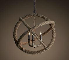 Nautical Lighting | Nautical Rope Lighting Fixtures