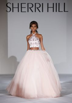 Sherri Hill - Runway - Mercedes-Benz Fashion Week Spring 2015 - Pictures - Zimbio