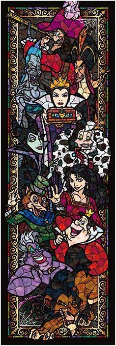 Disney Villains:)