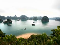 The Asian cruise region is packed with UNESCO World Heritage Sites, such as the strange limestone karst formations of Vietnam's Halong Bay.