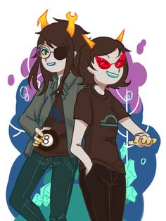 sidvosej:  vriska and terezi is good Friend